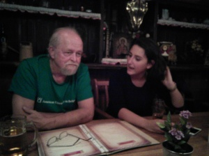 MACEDONIA_Prof. Ron Wiginton and Simona_Alumni Gathering