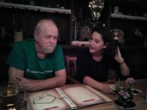 MACEDONIA_Prof. Ron Wiginton and Simona_Alumni Gathering